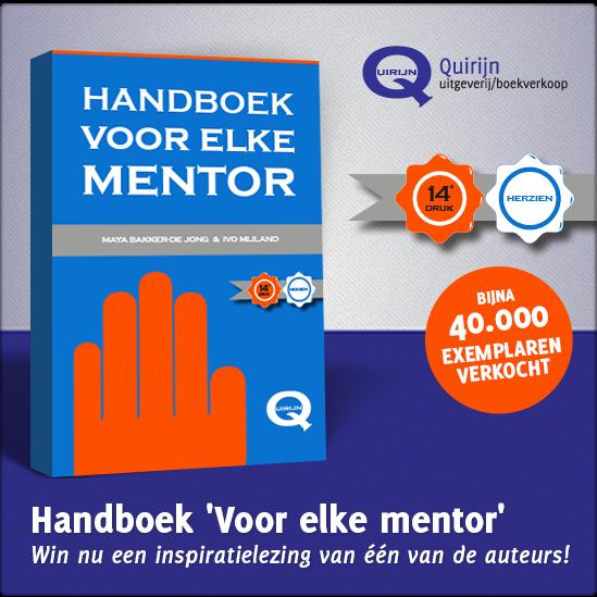 Handboek 'Voor elke mentor', praktijkboek voor beginnende en ervaren mentoren